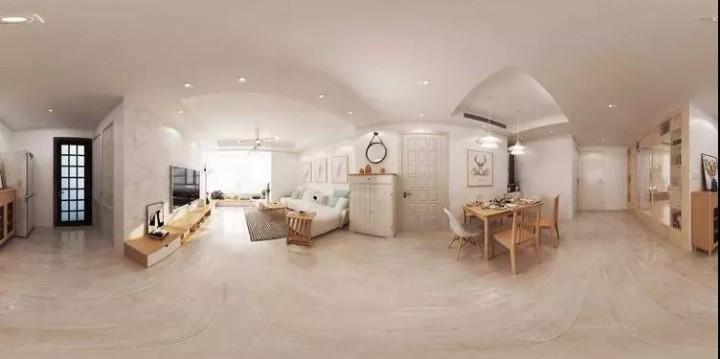 90后女生的118㎡素颜婚房,北欧混日系美上天了